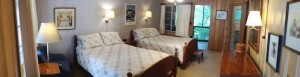 #13 Two Double Bed Room with a Porch