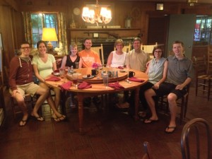 Family at the Inn - Summer 2014