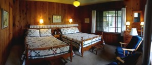 #2 Two Double Bed Room in main building.
